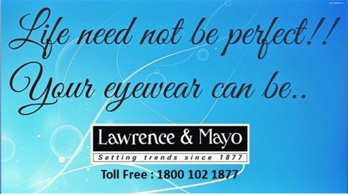 Life Need Not Be Perfect But Your eyewear Can be